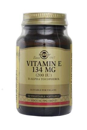 Solgar Vitamin E 200ıu 50 Kapsül 0