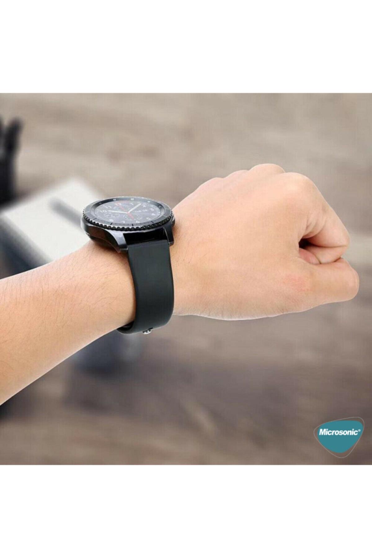 Microsonic Huawei Honor Magic Watch 2 42mm Uyumlu Silikon Kordon