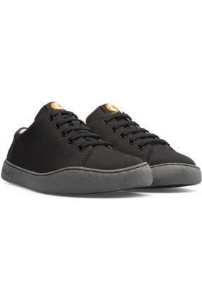 CAMPER Erkek Siyah Bağcıklı Sneaker 1