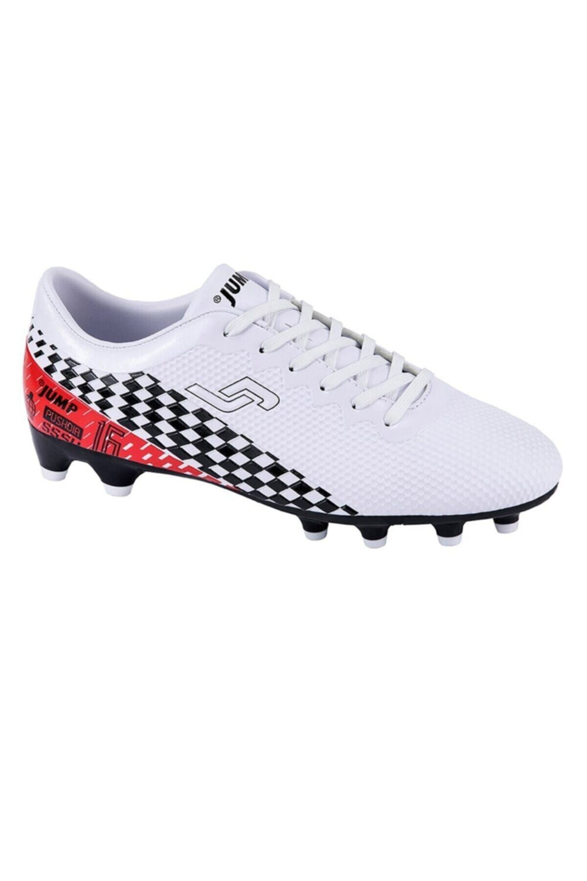 Erkek Beyaz Krampon Spor Ayakkabı 25852b