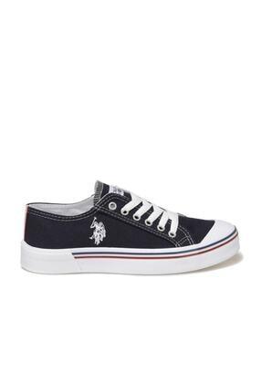 US Polo Assn PENELOPE 1FX Lacivert Kadın Havuz Taban Sneaker 100696335 1