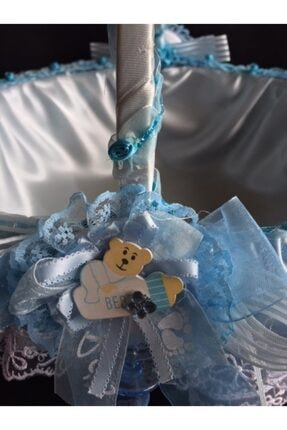GÜVEN Bebek Şekeri Sepeti Bebek Doğum Sepet Yeni Doğan 4