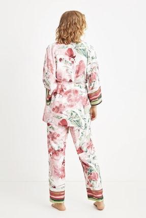 Penye Mood 9019 Üçlü Pijama Takım 1