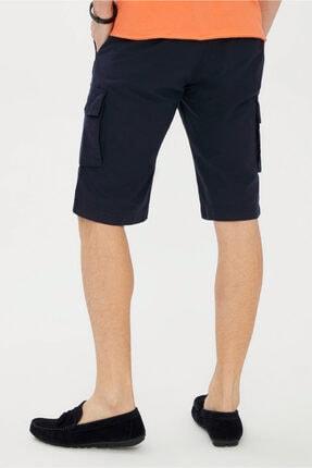 Kiğılı Erkek Açık Turuncu V Yaka Slim Fit Tişört 2