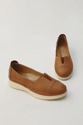 Marjin Meyza Kadın Hakiki Deri Comfort Ayakkabıtaba 2