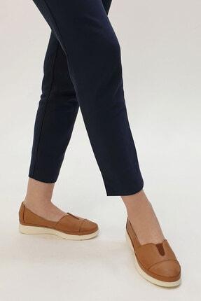 Marjin Meyza Kadın Hakiki Deri Comfort Ayakkabıtaba 3
