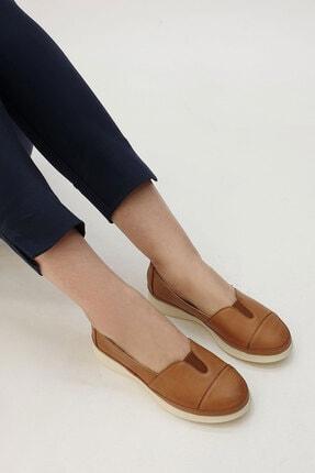Marjin Meyza Kadın Hakiki Deri Comfort Ayakkabıtaba 4