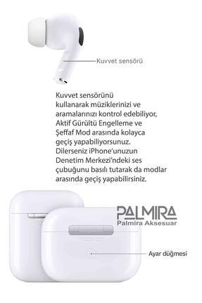Palmira Aksesuar Iphone Uyumlu  Pro Super Clone Kulaklık En Iyi Kalite 2
