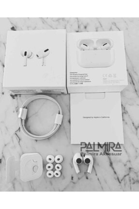 Palmira Aksesuar Iphone Uyumlu  Pro Super Clone Kulaklık En Iyi Kalite 4