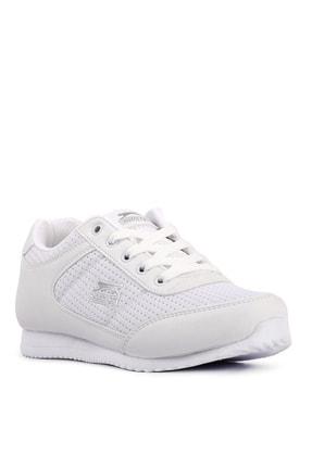 Slazenger Paloma Sneaker Kadın Ayakkabı Beyaz / Gümüş 1