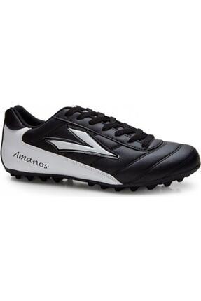 Picture of Amanos 10 Halı Saha Ayakkabısı Siyah Gri