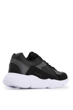 Slazenger INDIANA Sneaker Kadın Ayakkabı Siyah / Beyaz SA20RK069 2