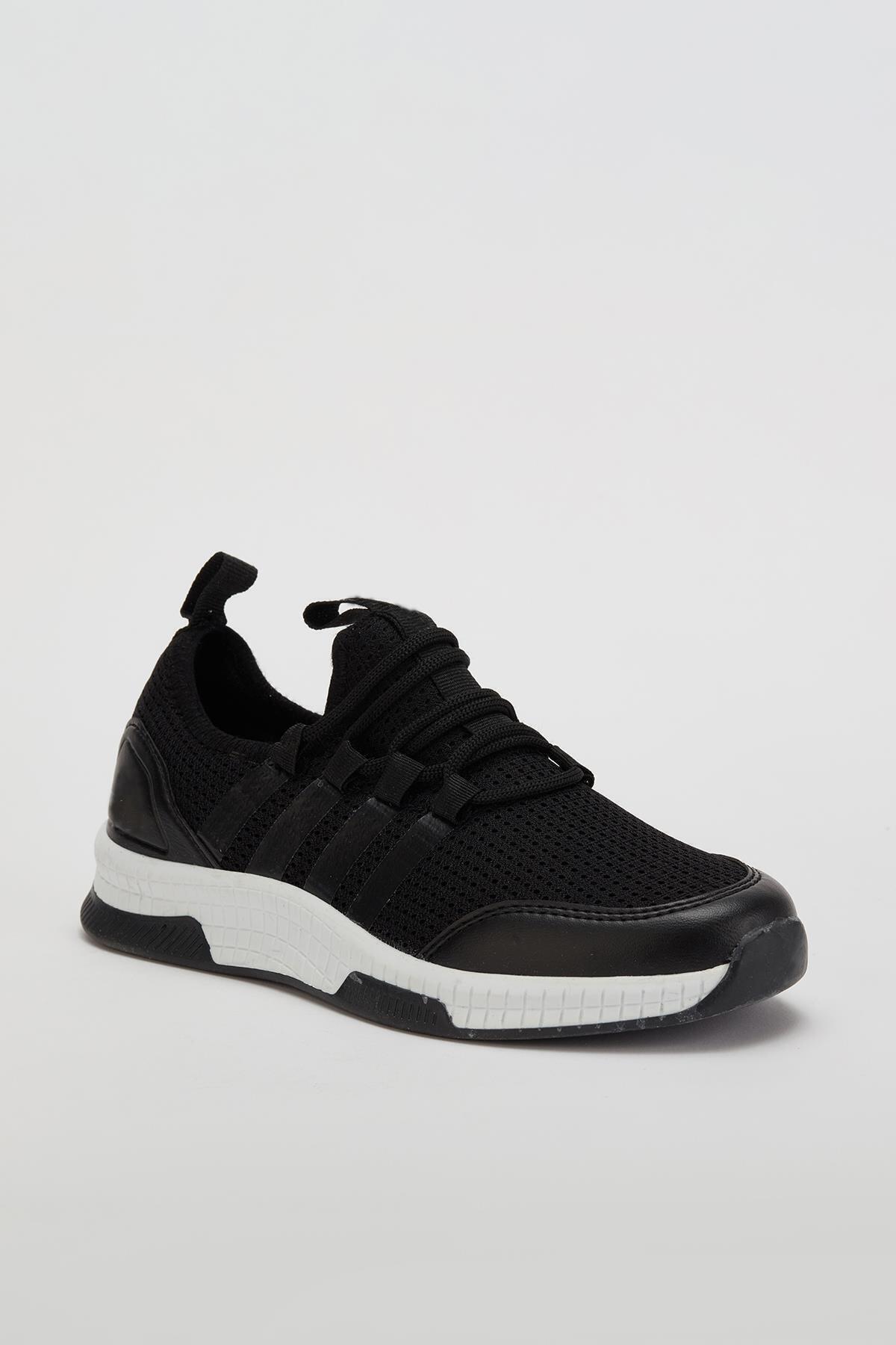 Larasima Unisex Siyah Sneaker Ayakkabı