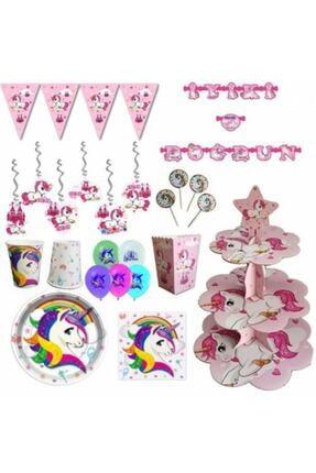 Unicorn Izmir Party Store 16 Kişilik Doğum Günü Seti 0