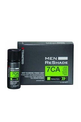 GOLDWELL 7ca Men Reshade Erkek Saç Boyası 4x20 ml 0