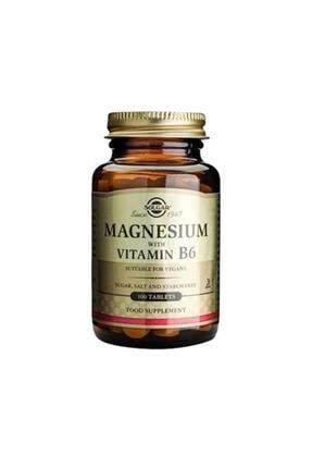 Solgar Magnesium With Vitamin B6 100 Tablet 0