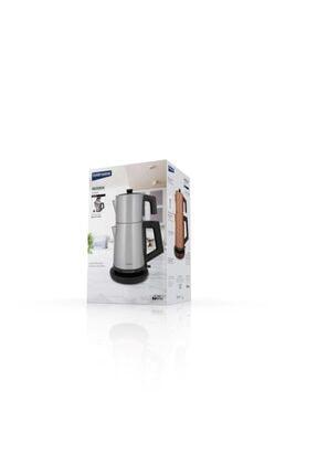 GoldMaster Incedem Çelik Çay Makinesi Ve Su Isıtıcı In-6306 Inox 1