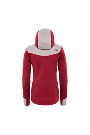 The North Face Inlux Tech Mid Kadın Kırmızı Ceket 1