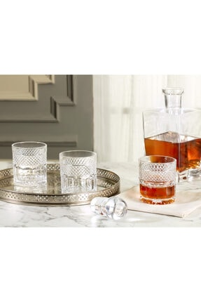 Madame Coco Laurent 4'lü Su Bardağı Seti 295 ml 0