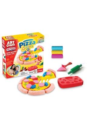 DEDE Oyun Hamuru Pizza Seti 0