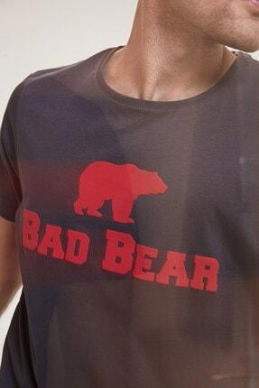 Bad Bear Erkek Antrasit Oversıze Tişört Tee Os 2