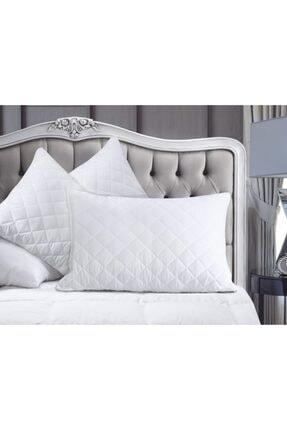 Fa Home Collection Beyaz Kapitone Silikon Yastık 50x70 0