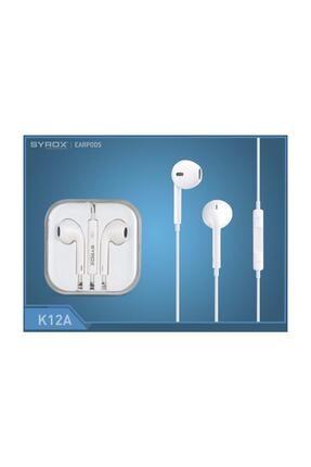 Syrox K12a 3.5 Mm Jak Girişli Mikrofonlu Kulaklık 0