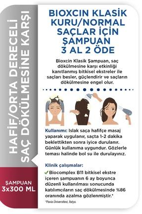Bioxcin Genesis Kuru ve Normal Saçlar İçin Şampuan 3 x 300 ml 3