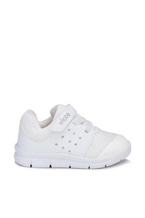 Vicco Mario Unisex Çocuk Beyaz Spor Ayakkabı 2
