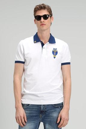 Lufian Palm Spor Polo T- Shirt Beyaz 0