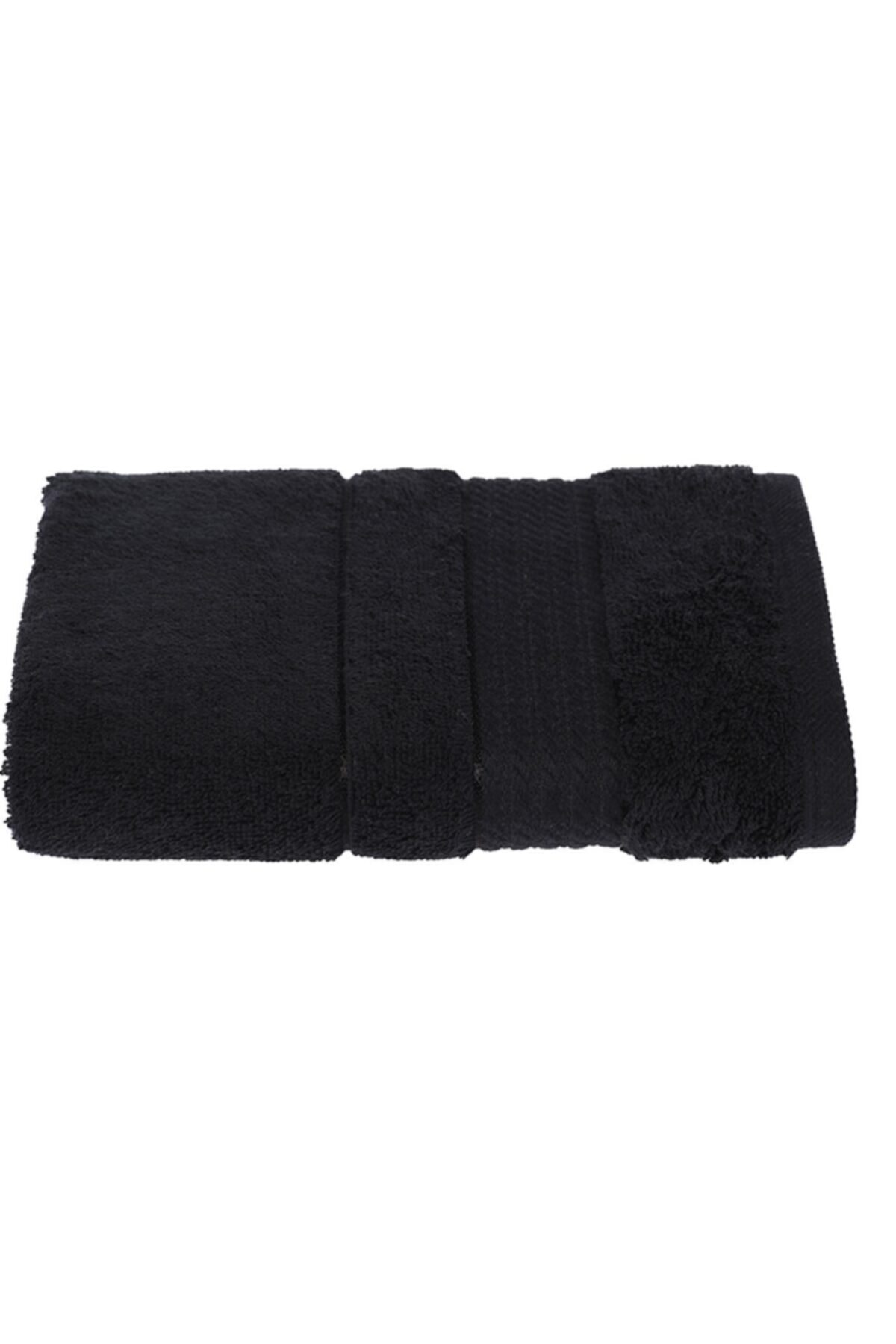 Siyah Soft Pamuk El-yüz Havlusu