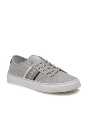 US Polo Assn TRONA Gri Erkek Sneaker 100505027 0