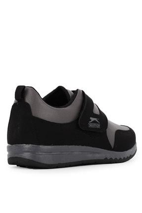 Slazenger Alıson I Sneaker Kadın Ayakkabı Siyah / Gri 2