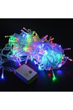 Topyekünparti Animasyon Kumandalı 10 Metre Led Işık Renkli - Elektrikli 0