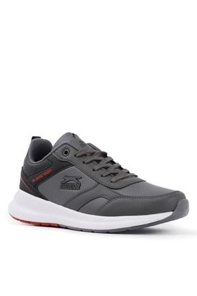 Slazenger Zero Sneaker Erkek Ayakkabı K.gri / Siyah 1