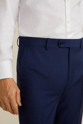 Mango Erkek Mürekkep Mavisi Pantolon 43030912 4