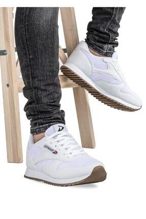 Dragon Erkek Beyaz Spor Ayakkabı 0