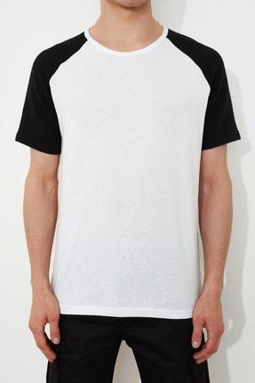 TRENDYOL MAN Beyaz Erkek Regular Fit T-Shirt TMNSS21TS0820 2