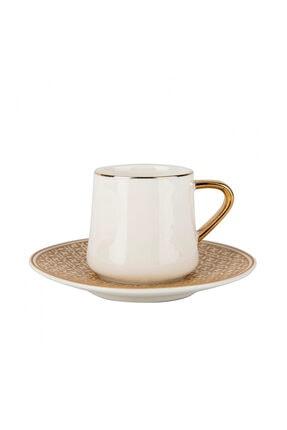 Karaca Ella 6 Kişilik Kahve Fincan Takımı 0