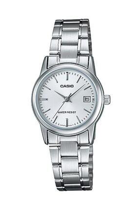 Casio Kadın Kol Saati Ltp-v002d-7audf Çelik Gümüş 0