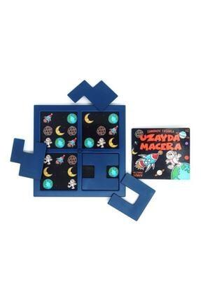 Tes Yayıncılık Uzayda Macera Zeka Oyunu 1