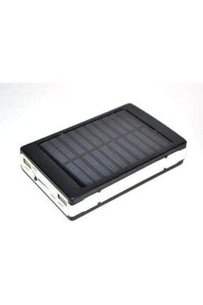 Carmenta Solar Powerbank 18.000 Mah - Güneş Enerjili - 20 Power Led Işıklı 0