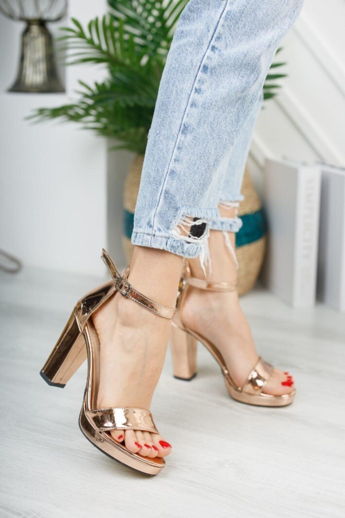 Zenne Ayakkabı Platform Tek Bant