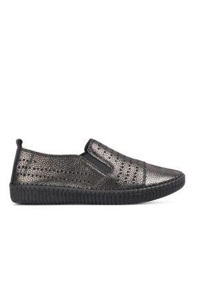 Siyah Simli Kadın Ayakkabı PMT76893