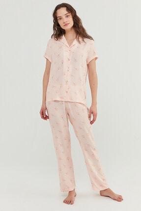 Penti Kadın Açık Pembe Pijama Takımı 0
