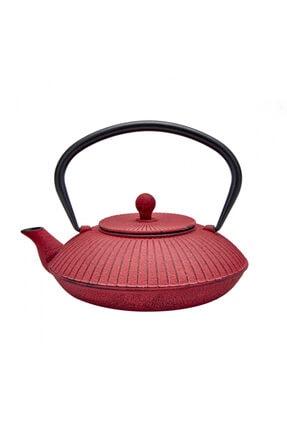 Karaca Red Rouge Teapot 780 Ml 0