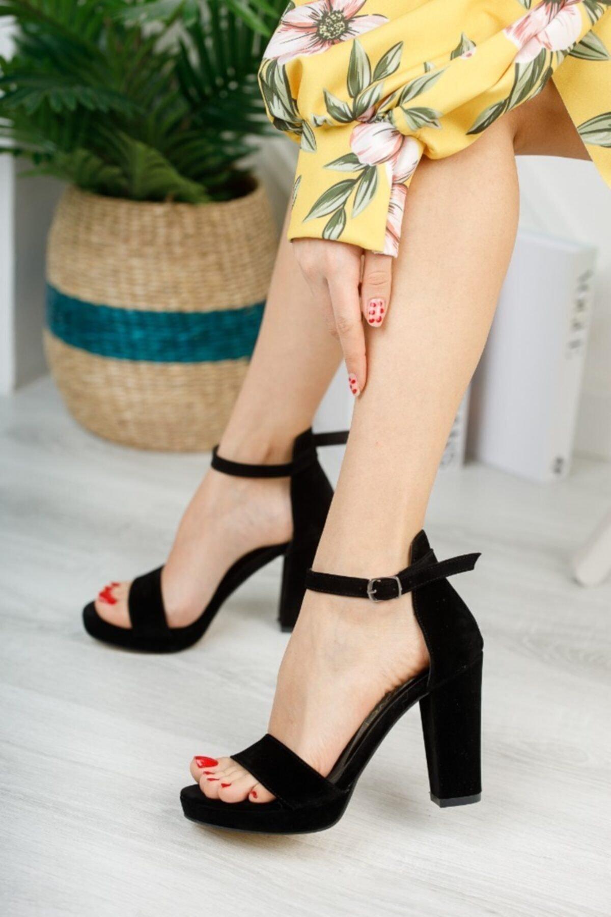 Kadın Zenne Ayakkabı Platform Tek Bant