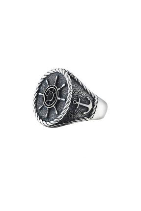 ATOLYESTONE Dümen Yüzük -gümüş 0