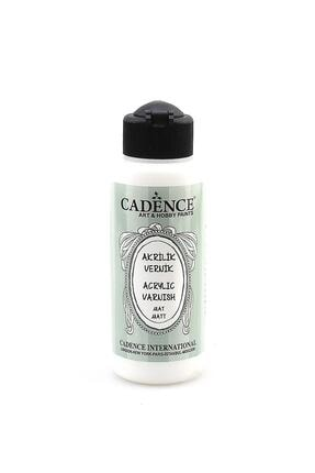 Cadence Boya Su Bazlı Mat Vernik 120 ml Yarı Mat 0