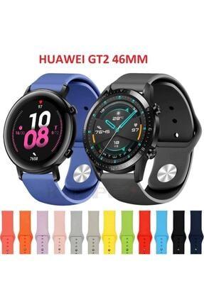 Ekoodukkan Huawei Gt 2 - Honor Magic Watch 2 Uyumlu  46mm Akıllı Saat Düz Silikon Kordon 2